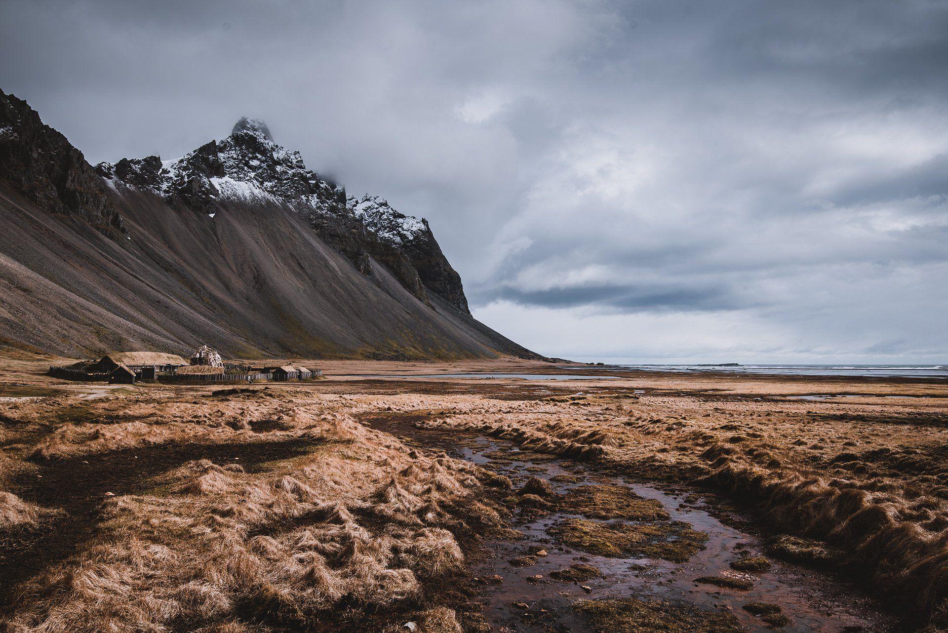 Dark Moody Lightroom Presets Viking Village Travel Photography Landscape Photography