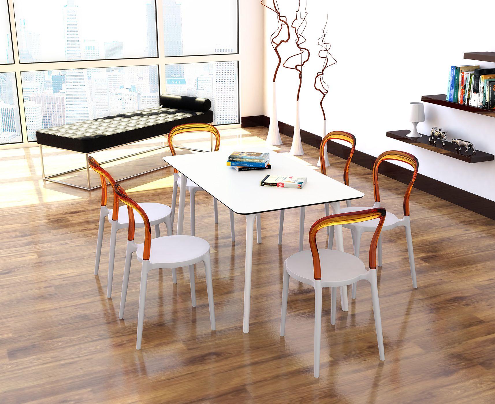 Sedie Eurosedia ~ Sedia free eurosedia bianca ambra sedie e sgabelli
