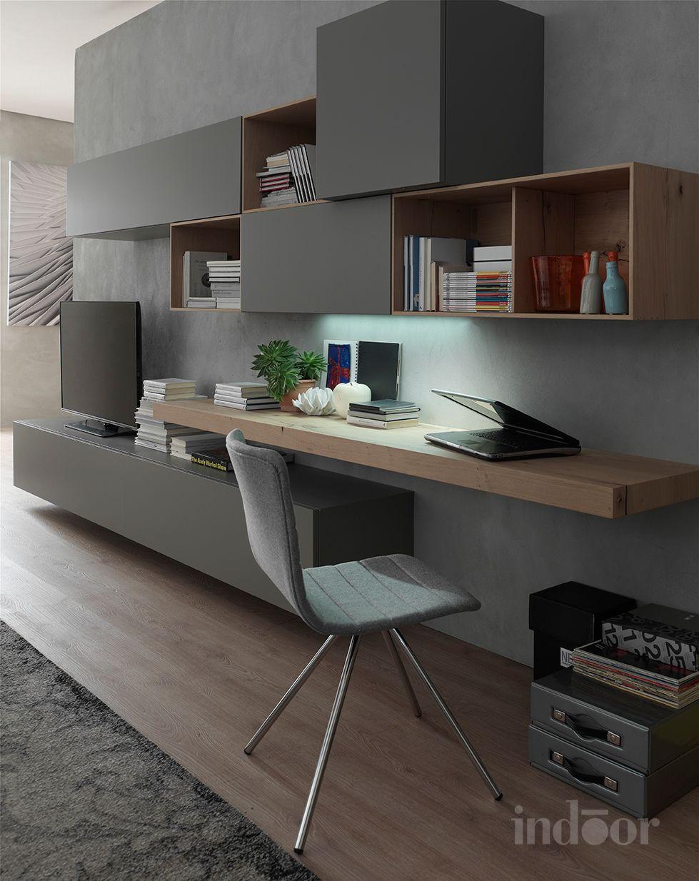 Writing Shelf Home Office Nel 2019 Arredamento Scrivania