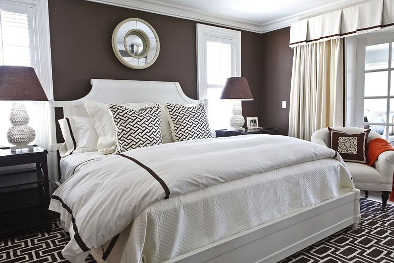 Lovely In Search Of Some Brown Bedroom Inspiration, Here Are My Ideas: 1   Here Is  A Room With A Really Rich Chocolate Wall Color. Pictures