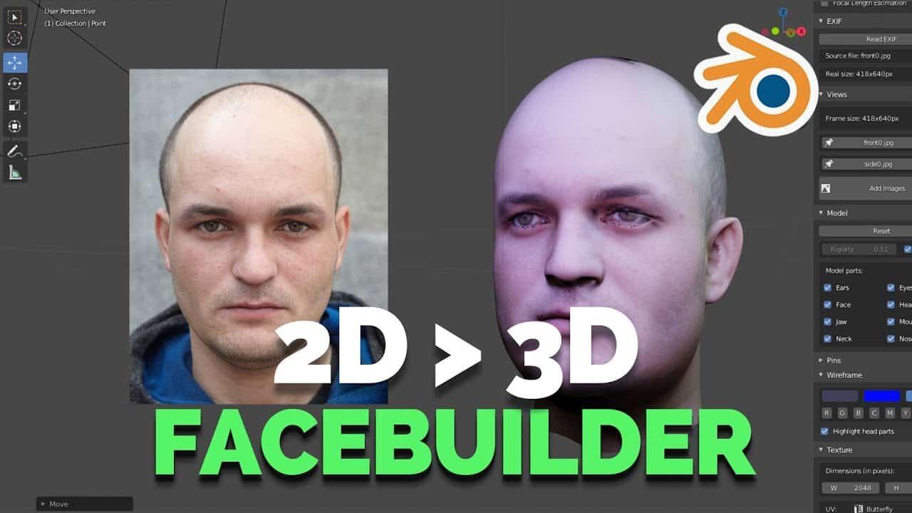 Download facebuilder for blender by keentools blender
