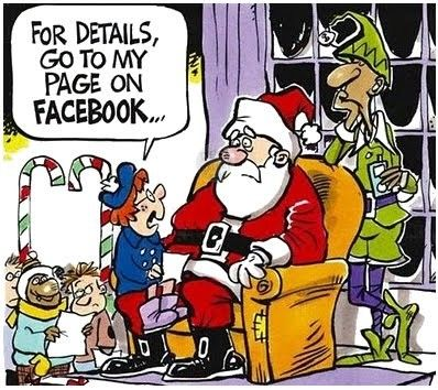 Funny+Santa+Cartoons | In time for Christmas: Funny Christmas ...