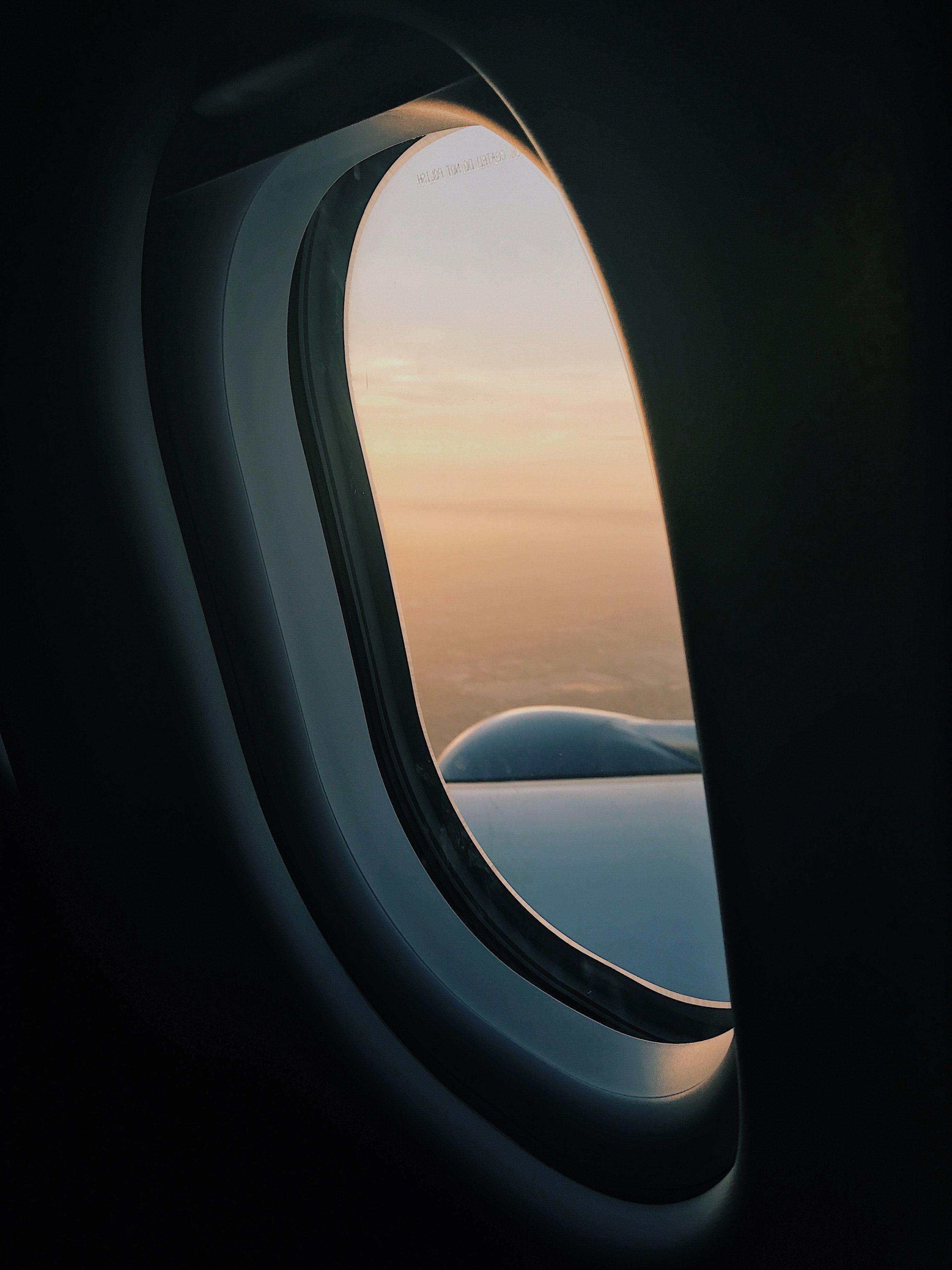 Airplane Window Plane Window Wallpaper Iphone Wallpapers