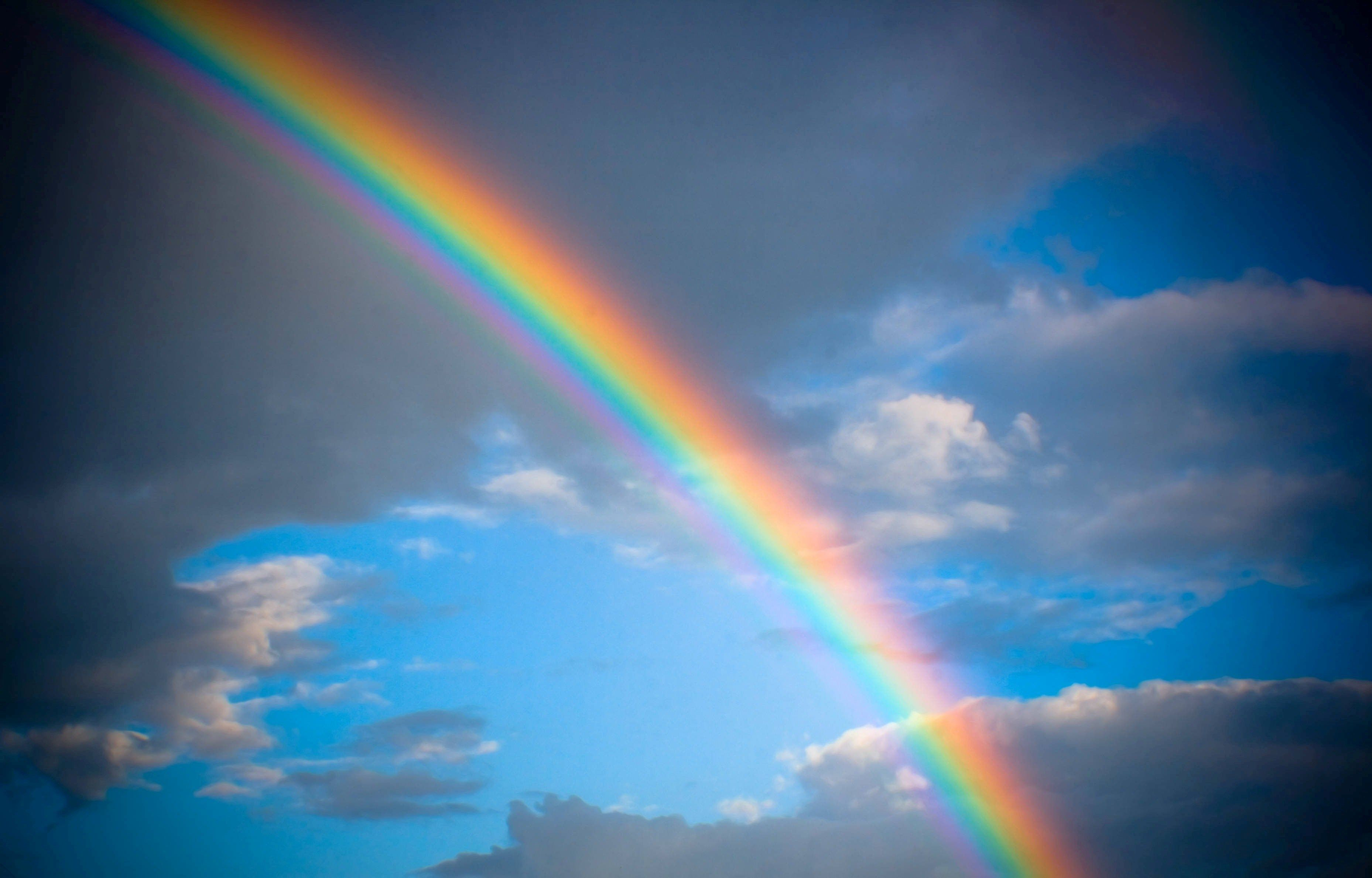 Natural rainbow on sky wallpaper hd ololoshenka pinterest natural rainbow on sky wallpaper hd voltagebd Gallery