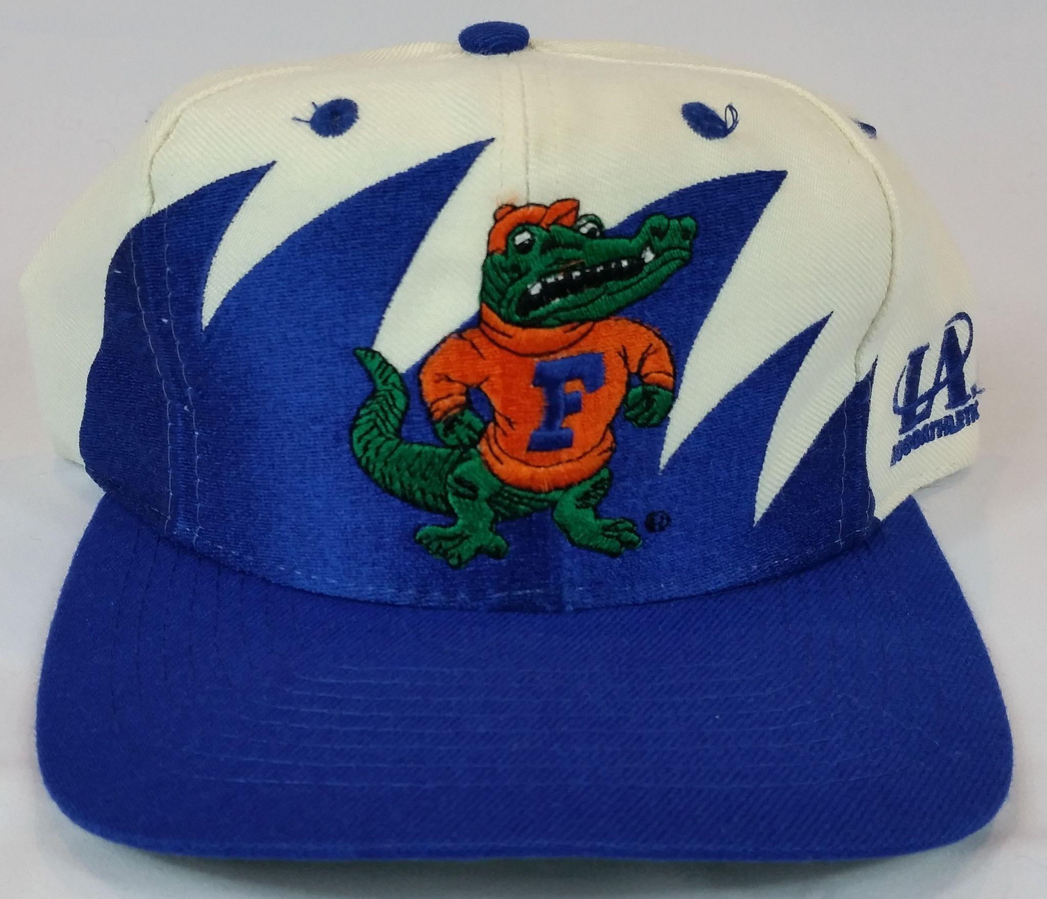 784018acb Florida Gators Vintage Snapback Logo Athletic Sharktooth Hat Rare Logo7 Cap  NCAA