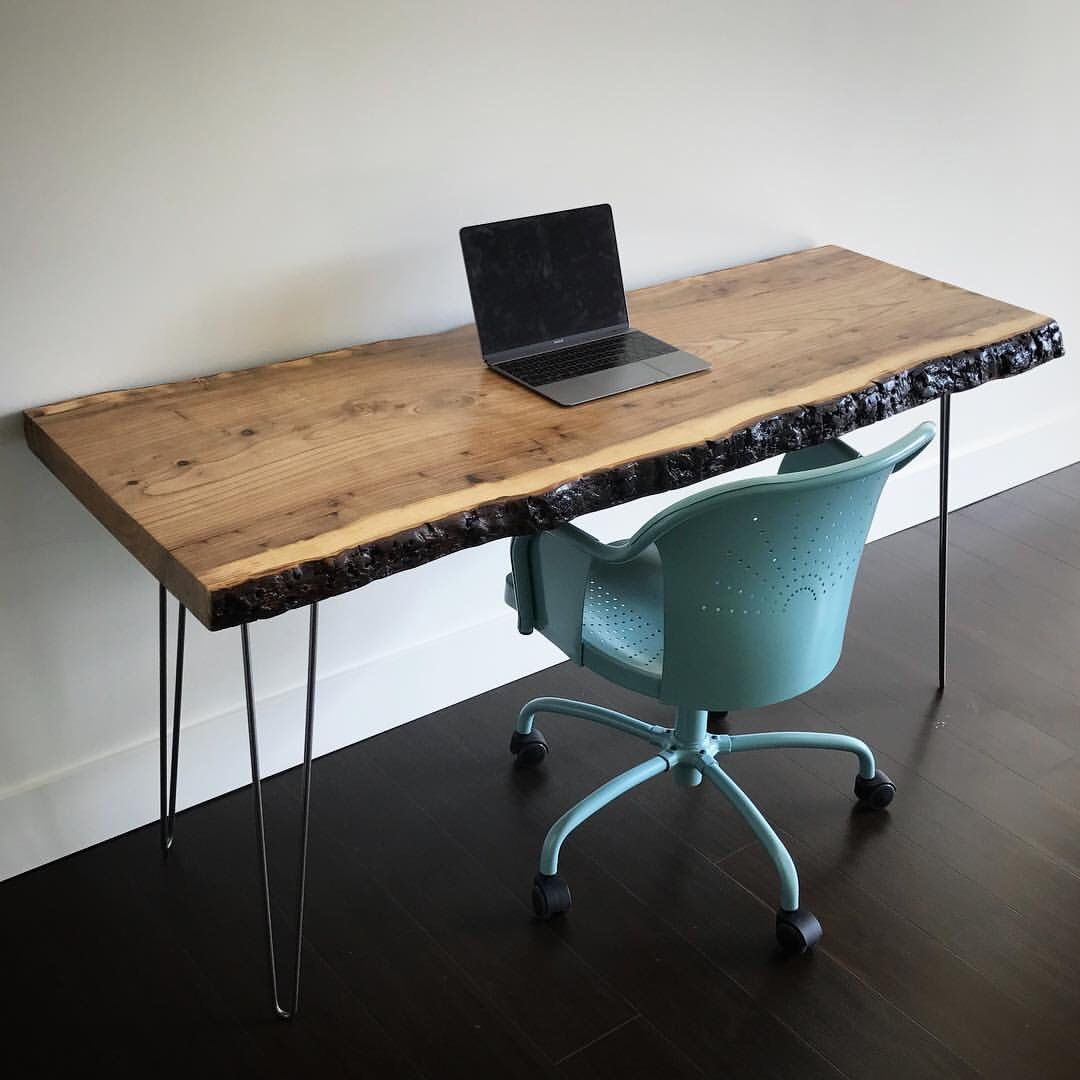 Live edge desk by boltwoodworks on etsy sylisting