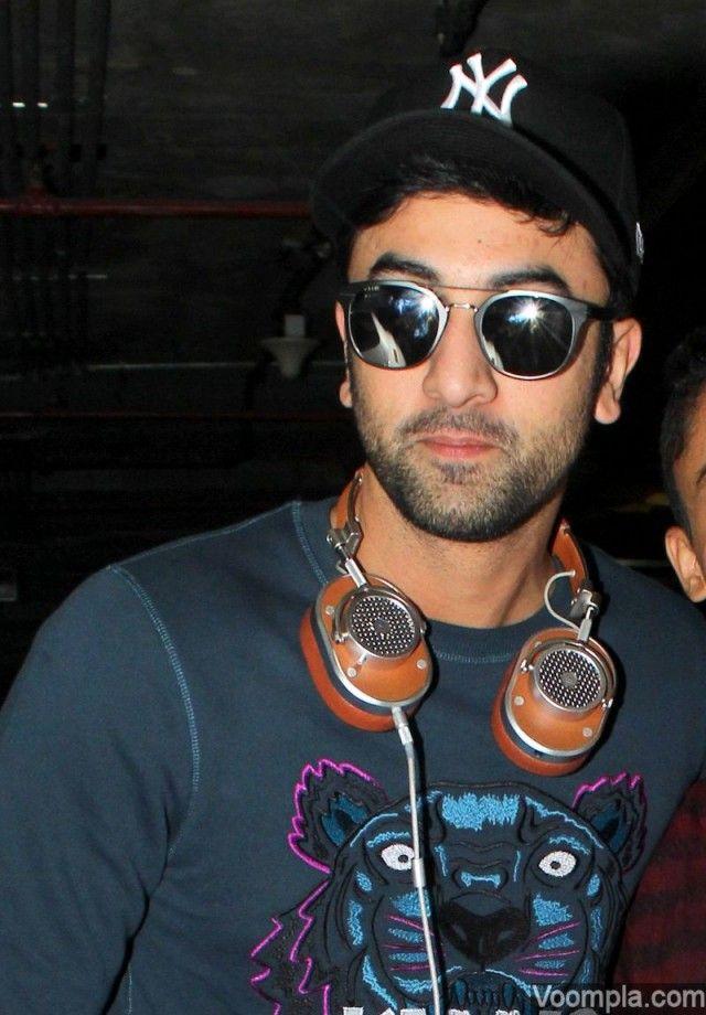 Ranbir Kapoor goes casual in Kenzo, jeans and sunglasses ...  Ranbir Kapoor g...
