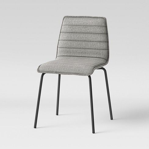 Upholstered Chair Gray