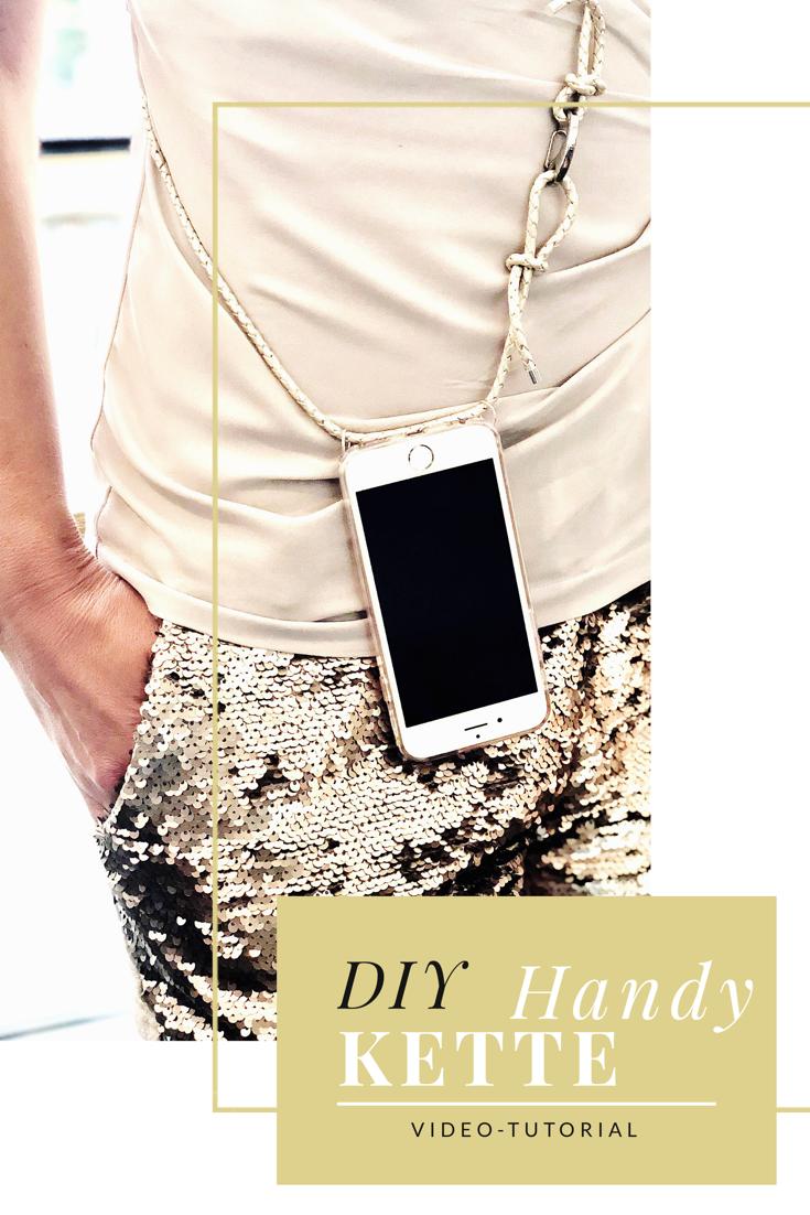DIY Handykette – Video-Tutorial für Phone Necklace / Fashion It-Piece