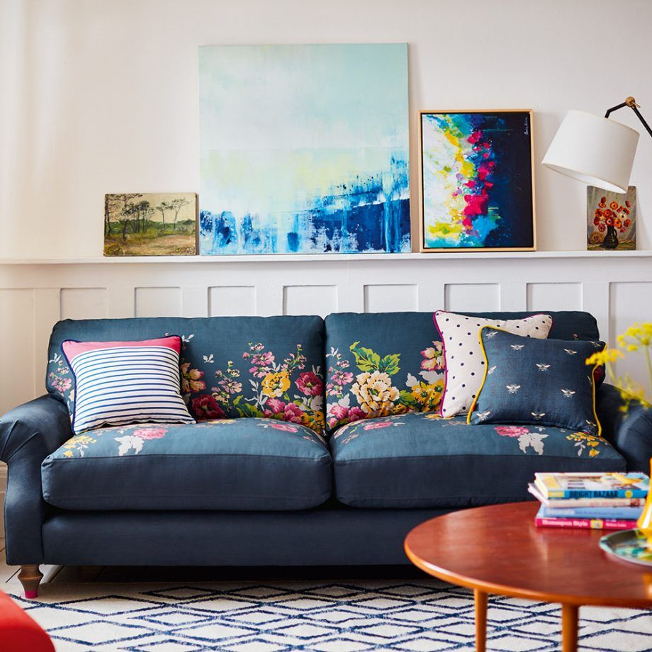 Joules Launches A New Sofa Range For Dfs Ideal Home Living Room Designs Diy Deck Furniture Trending Decor