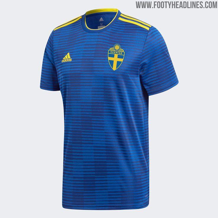 Sweden 2018 World Cup Away Kit Released - Footy Headlines | Soccer ...