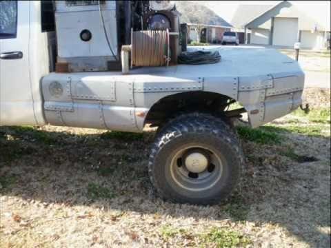 Pipeline Welding Truck Beds Custom Welding Rig Truck Beds