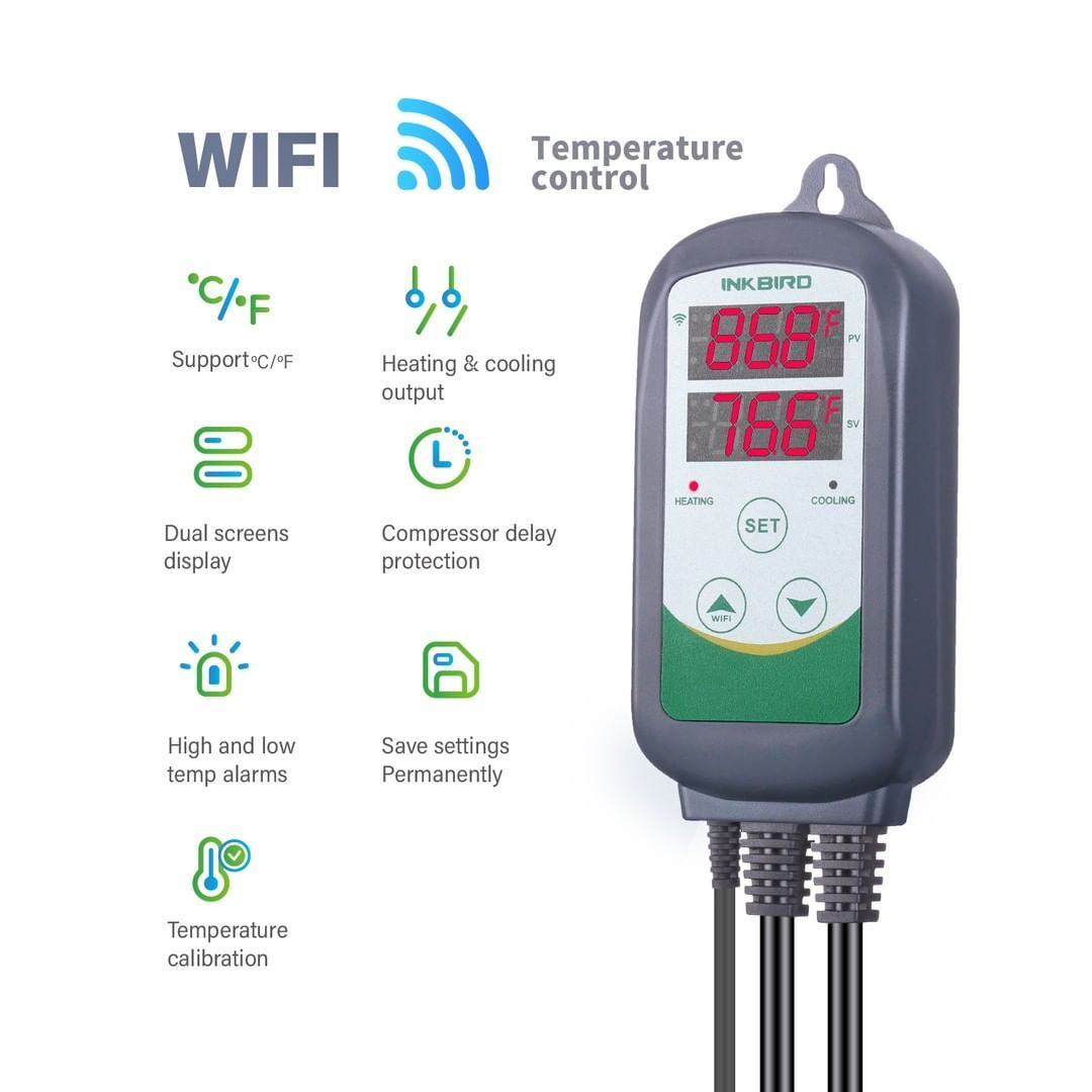 New Product Alert Introducing The Inkbird Itc308 Wifi Temperature
