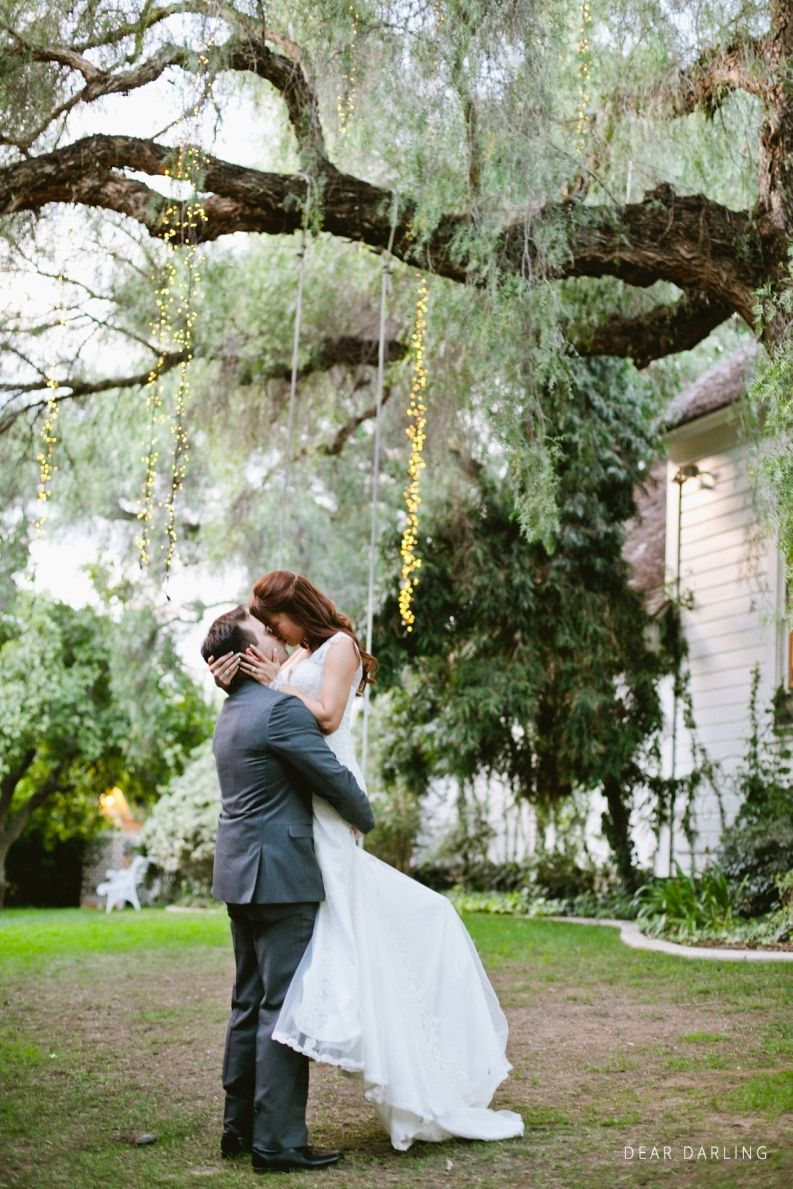 San Diego Wedding | Green Gables Wedding Estate | Escondido, CA | Couples Shot | Bride and Groom   deardarlingphotography.com