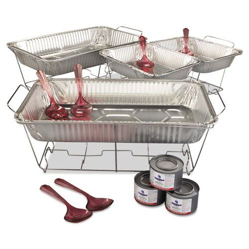 Chafing Dish Rack Custom Maryland Plastics Inckingsmen 24Piece Chafing Rack Kit  Three Inspiration Design