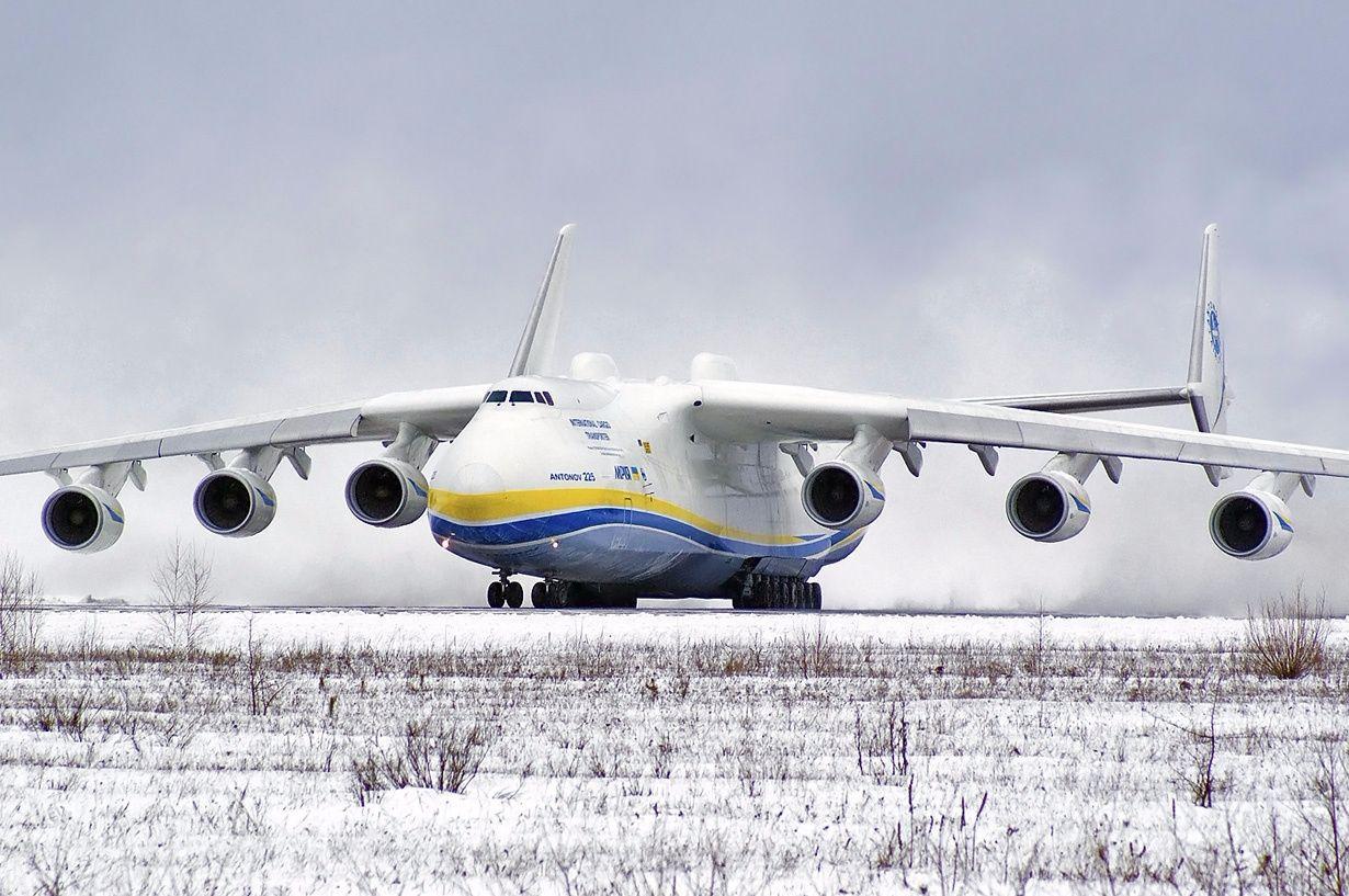 Antonov An 225 Mriya Takeoff At Gostomel Airport Aircraft Jet