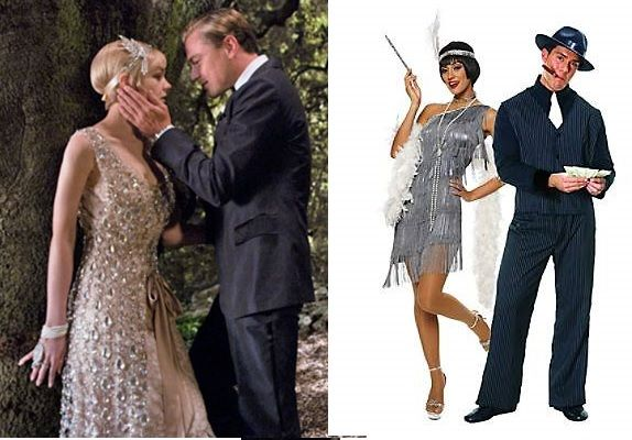 The Great Gatsby Dress Up Outfit Costume
