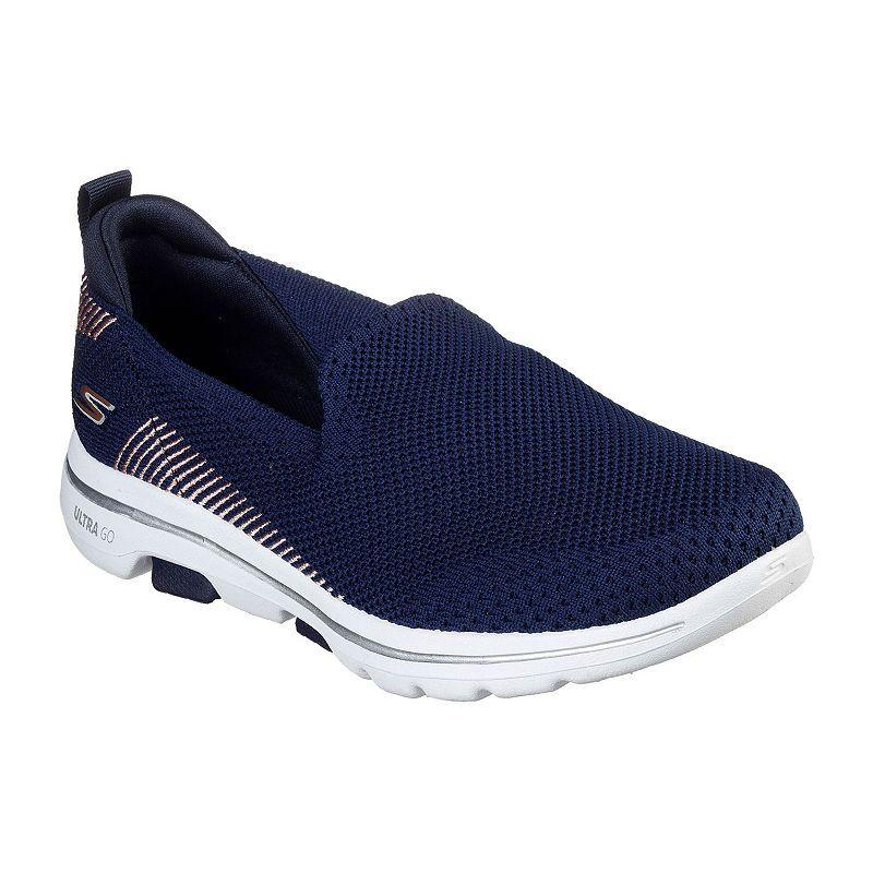 Skechers Go Walk 5 Prized Womens Walking Shoes Slip on