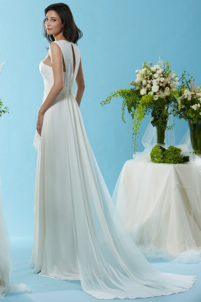 Style * SL070 * » Wedding Dresses » Silver Label 2015 Spring Collection » by Eden Bridals » Available Colours : Ivory (side)