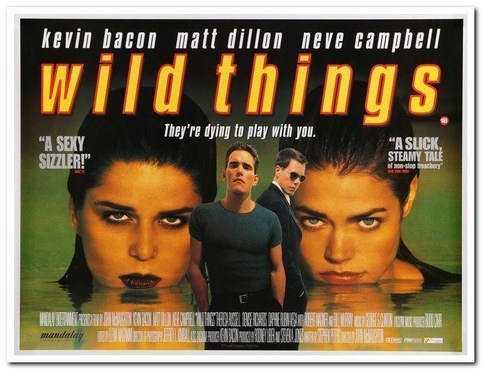 WILD THINGS -1998- Original BRITISH QUAD movie poster- MATT DILLON ...