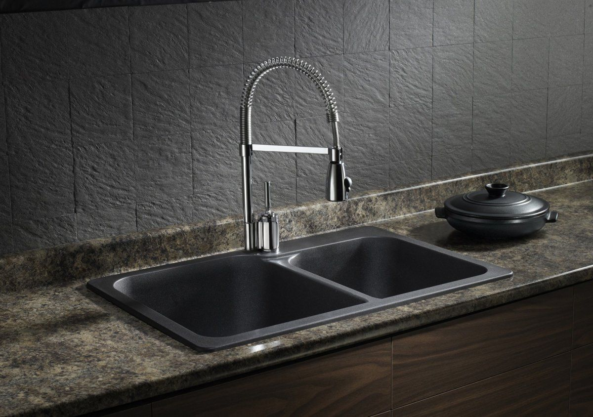 Franke granite sinks pros cons - Blanco Silgranit Natural Granite Composite Topmount Kitchen Sink Caf Home Depot Canada Now Imagine Pinning All The Products That You Mig