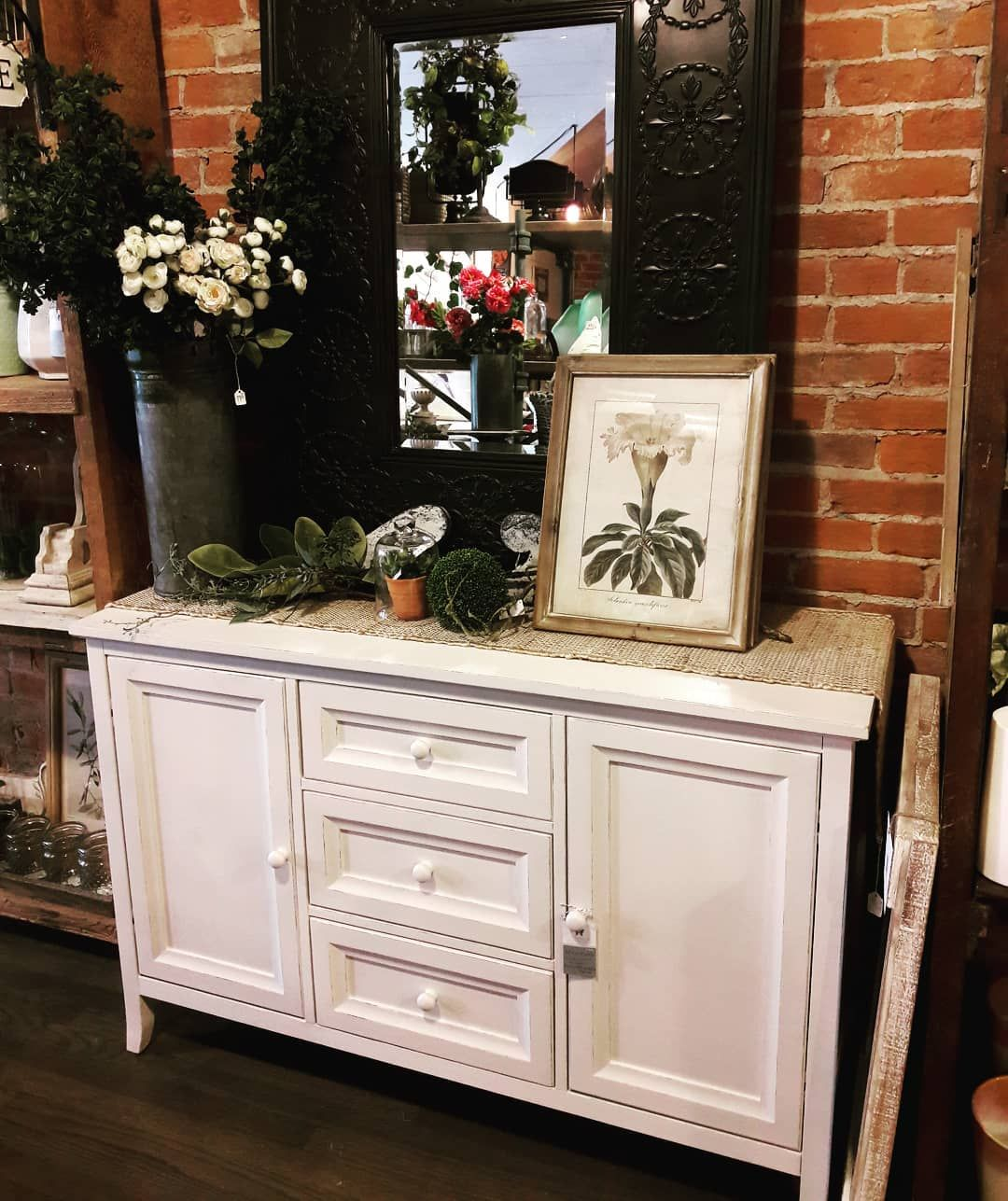 Simple buffet painted with Amy Howard One Step paint in