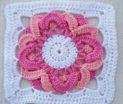 patrón libre de la plaza - patrones de punto de hilo | Crochet ...