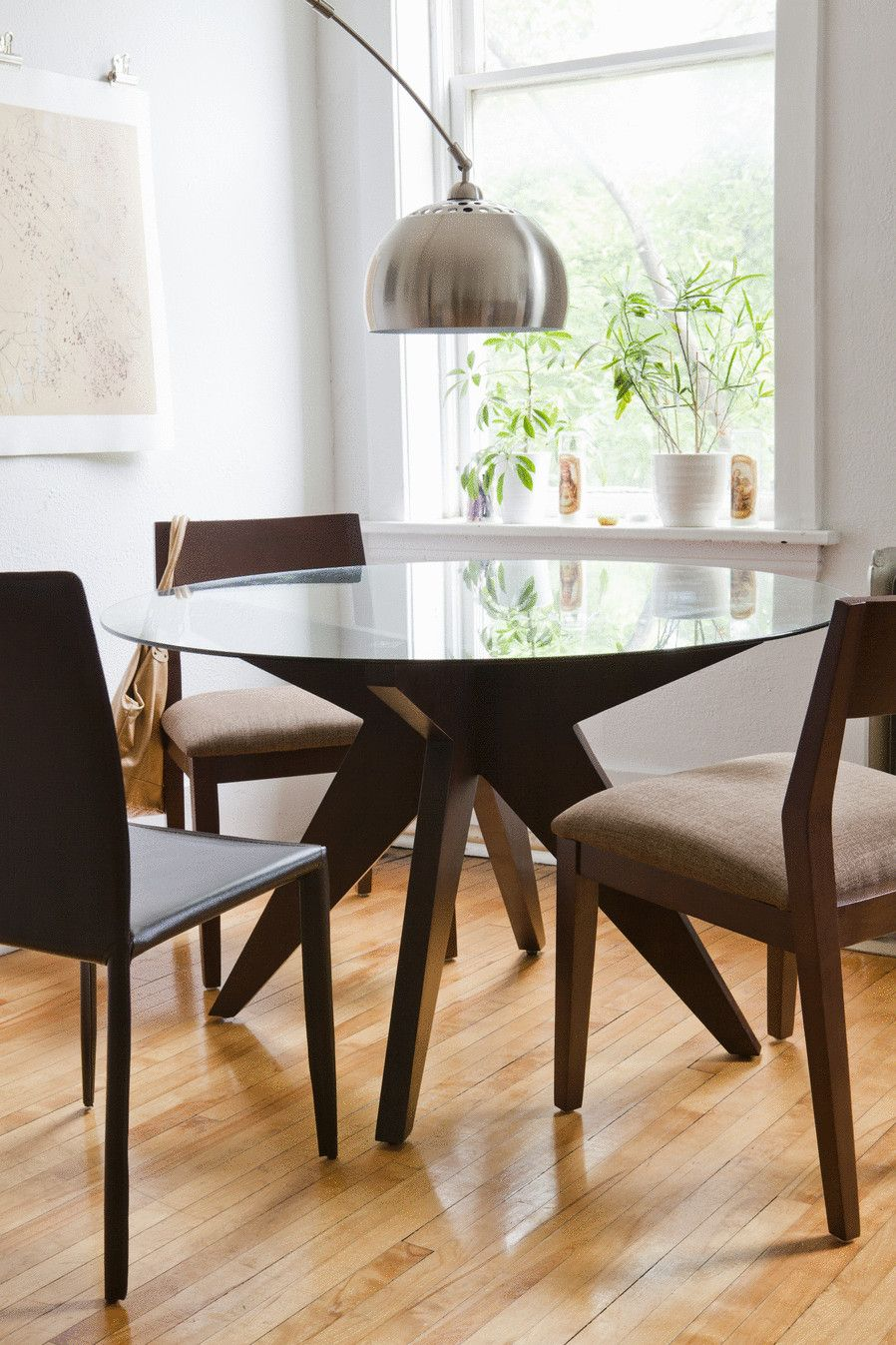 Eq3 Husk Dining Table W Customizable Open Back Chair