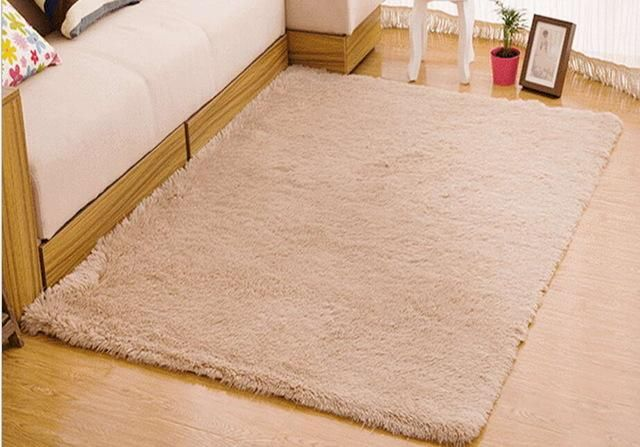 Non Slip Soft Polyester Rug 13 Different Colors 8 Different Sizes Oxedy With Images Modern Carpet