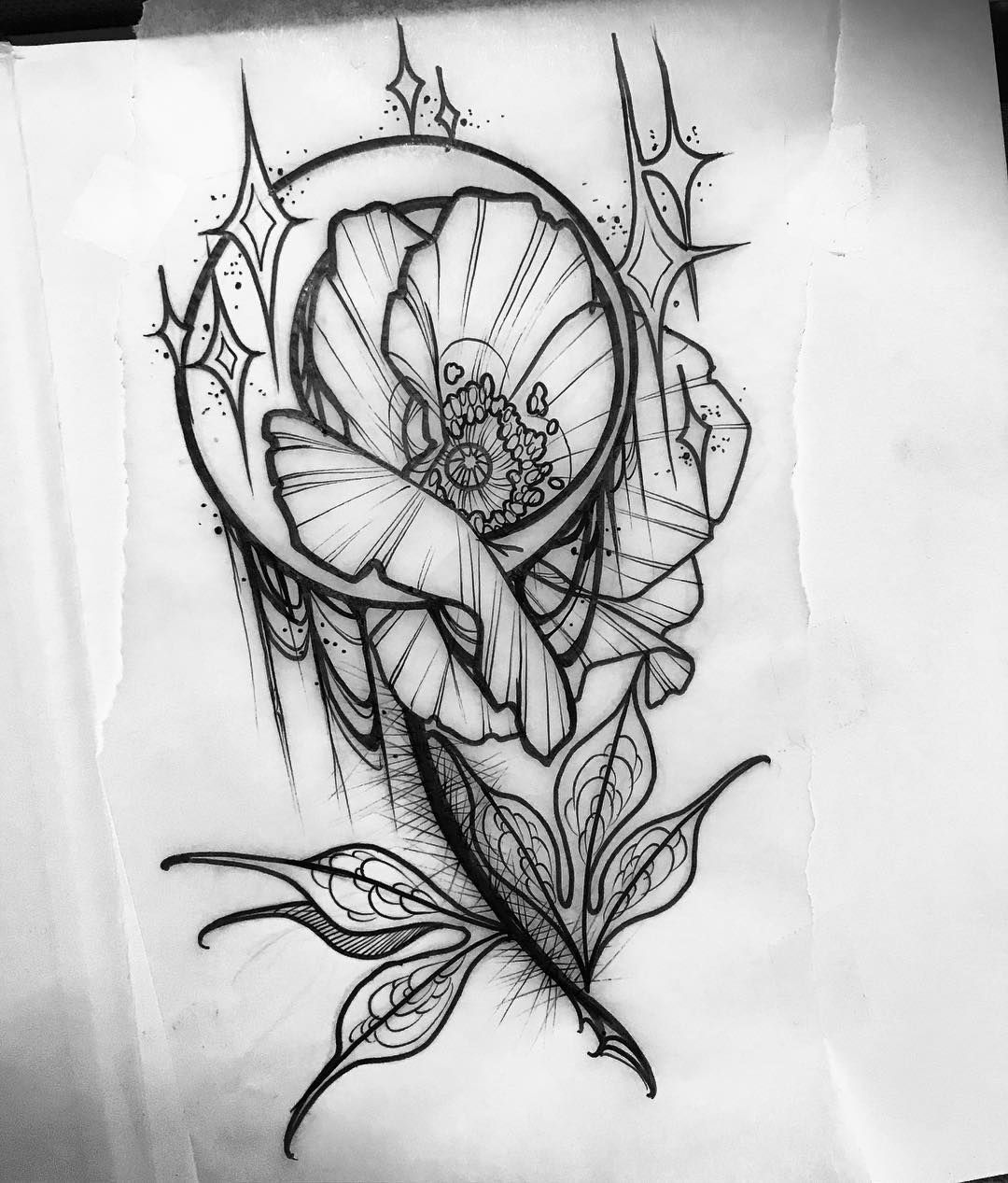 Tattoo Designs Up For Grabs: Up For Grabs. Popppppy!! . . . . #tattoo #tattoos