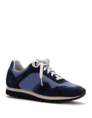 6f554b872f4 Ed Ellen Degeneres Farren Suede Sneakers Women s Blue 6.5M ...