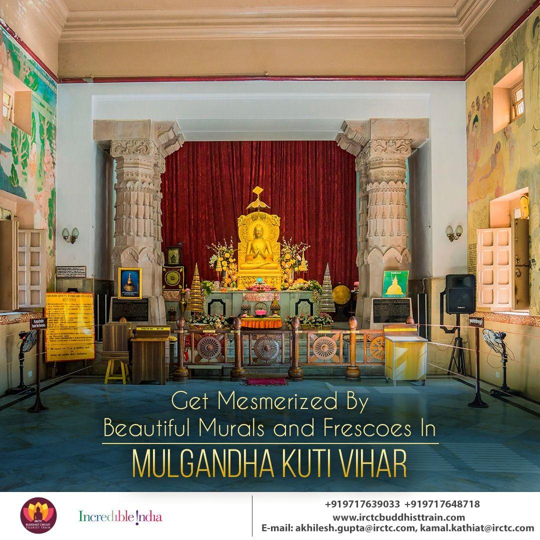 Set Amidst The Ancient Ruins Of Sarnath Mulgandha Kuti Vihar Is A
