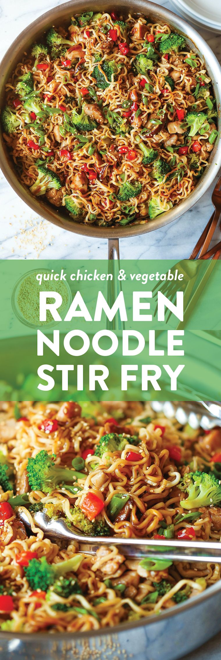 Quick Chicken Ramen Noodle Recipe | Damn Delicious