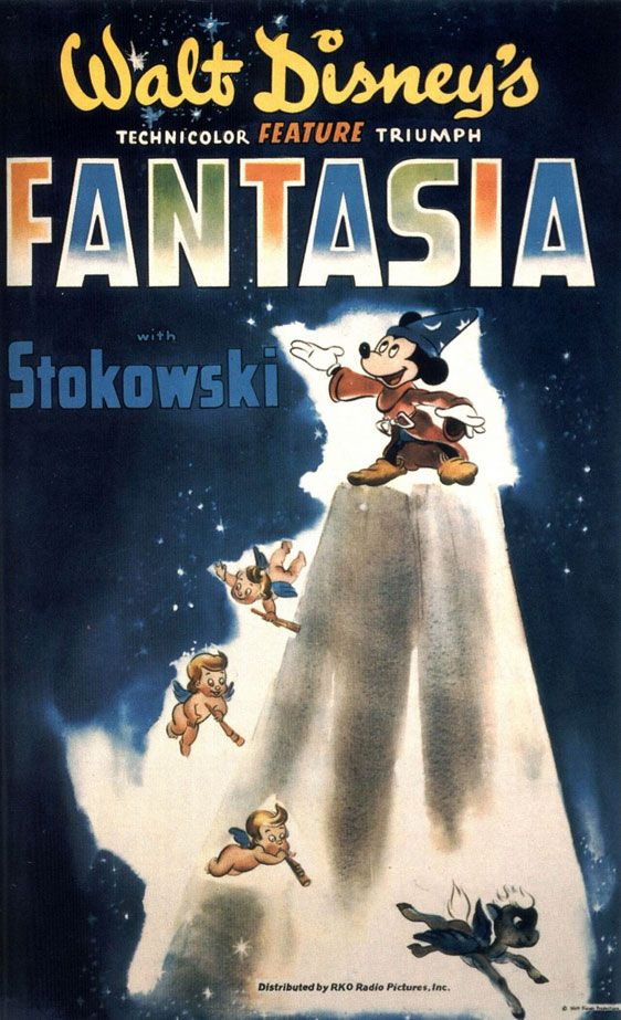Fantasia [original 1940 poster (1940)]. | Walt disney animated ...