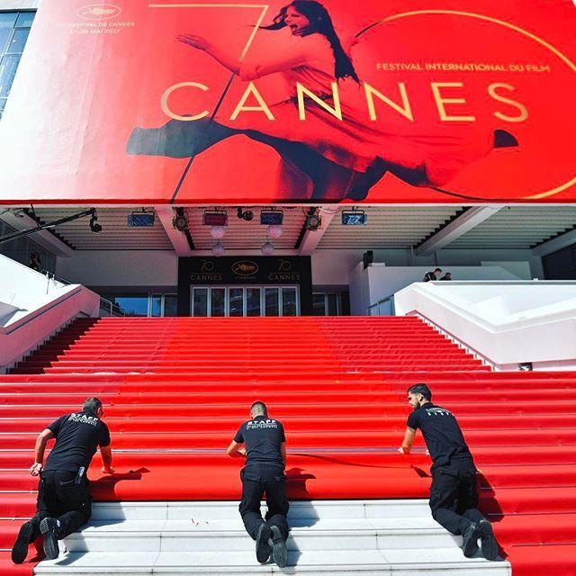 La giuria è arrivata e il tappeto rosso è quasi pronto... Il festival di #Cannes può ufficialmente iniziare! Il vincitore sarà scelto dal presidente #PedroAlmodóvar insieme tra gli altri a #JessicaChastain #WillSmith e #PaoloSorrentino. Link in bio sui film in concorso e tutto quello che c'è da sapere su questa settantesima edizione  #MCInstanews #Cannes2017 #FestivaldiCannes #RedCarpet #Moviestar  via MARIE CLAIRE ITALIA MAGAZINE OFFICIAL INSTAGRAM - Celebrity  Fashion  Haute Couture…