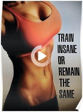 'Women's Fitness Inspirational Quote And Saying' Poster by superfitstuff. #fitnessmotivation #fitnes...