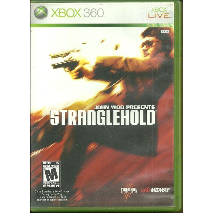 john woo presents stranglehold xbox 360 game disc dvd with manual rh pinterest com manual do xbox 360 live manual xbox 360 live español