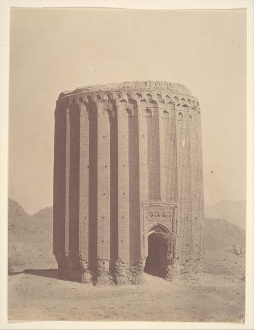 Tower of Toghrul, Rey, northern Iran, circa 1860.
