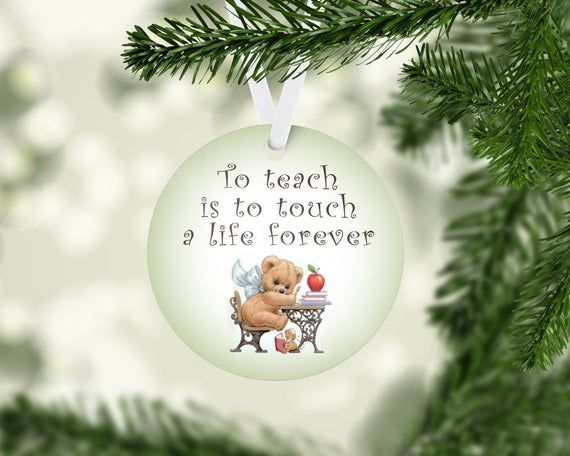 Back To School Teacher Ornament