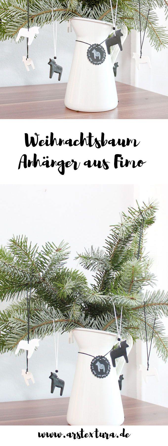 Weihnachtsdeko Verkaufen.Das Zweite Türchen Weihnachtsbaum Anhänger Und Magnete Aus Fimo