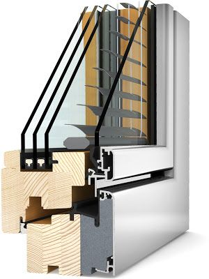 Triple Pane Windows With Built In Blinds From It Windows Doors House Windows Windows And Doors Architecture Details