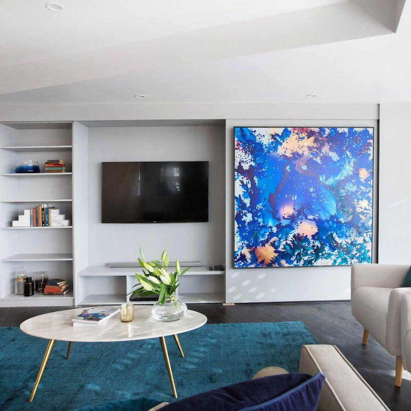 The block octagon living room week sala comedor - Schmales wohnzimmer ...