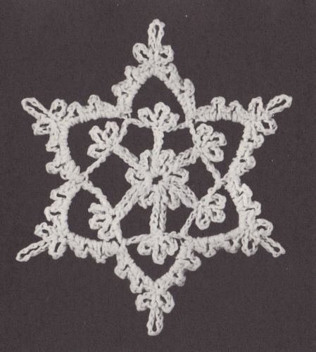 Crochet-Snowflakes-Book-I-Helen-Haywood-Patterns-Christmas-Ornaments-amp-Decor