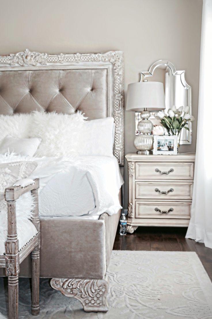 Stylish Bedroom Inspiration And Nightstand Decor