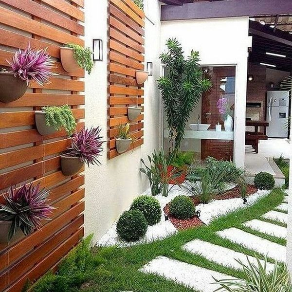 Ideas para patios peque os decoraci n de jardines for Decoracion de canteros y jardines