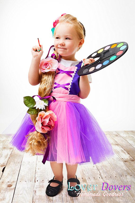 apron RAPUNZEL dress up TUTU kids apron por loverdoversclothing, $26 ...
