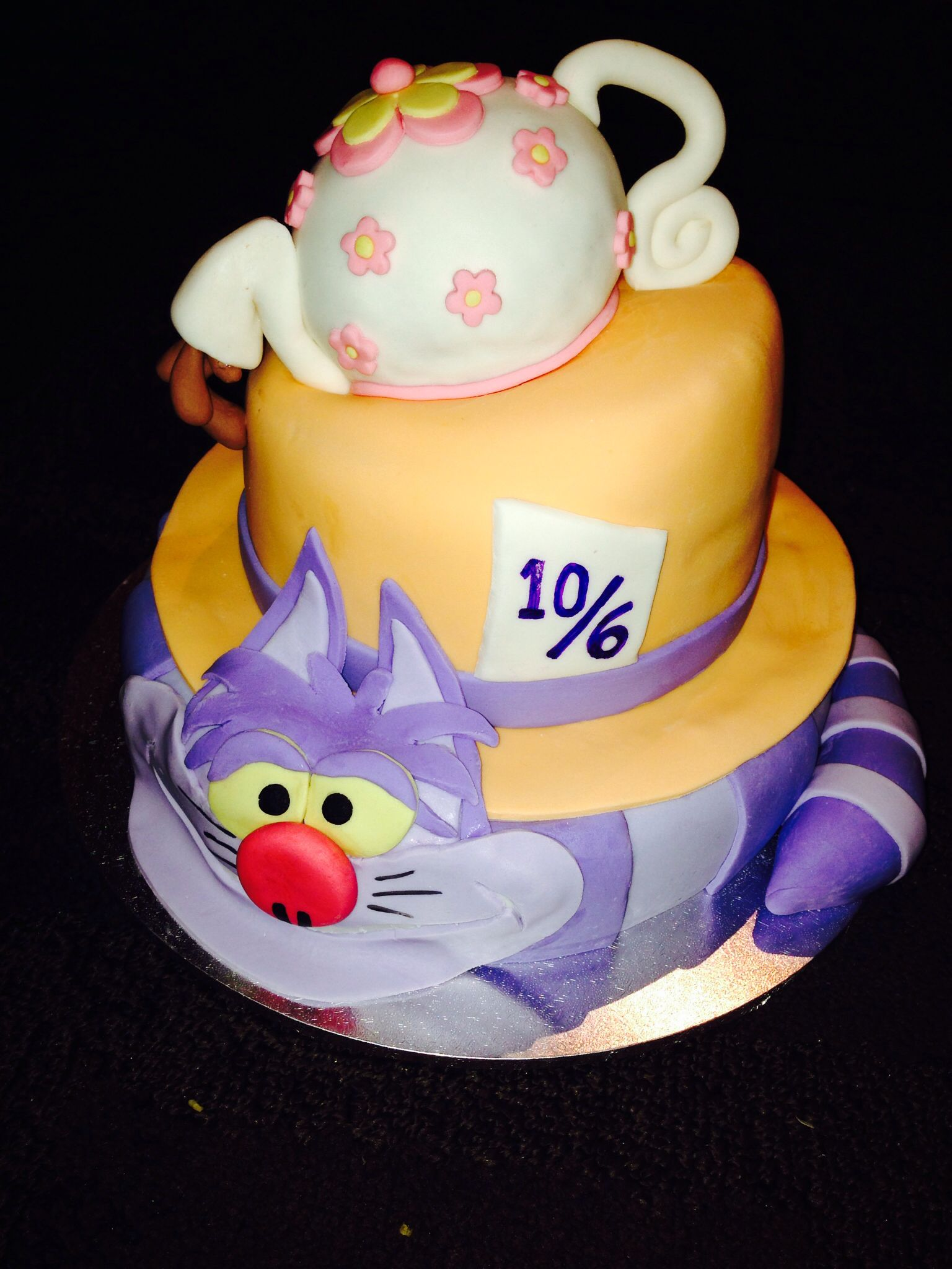 Mad Hatter Tea Party Cake Ideas 46547 Mad Hatter Cake Mad