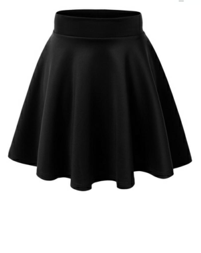 3f953d7be4630 Pull On Skater Skirt | Clothes/Fashion | Mini skater skirt, Black ...