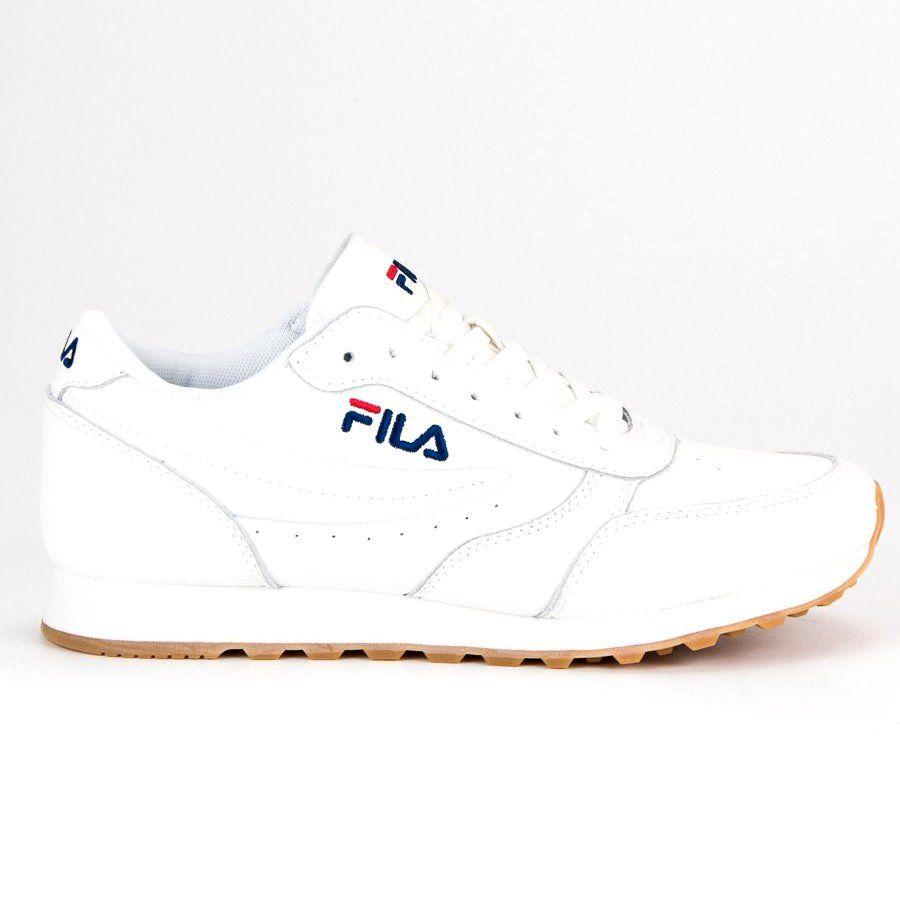 Białe Fila Orbit Jogger Low   Filas   Joggers, Shoes, Sneakers