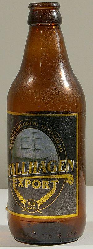 Ålands Bryggeri Stallhagen Export 5,5% pullo